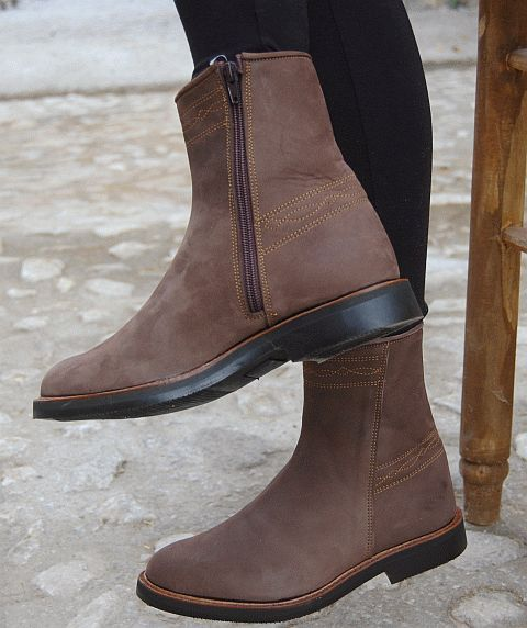 Spanish Leather Boots
